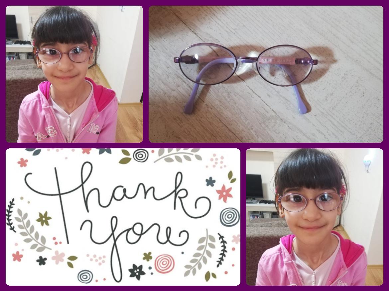Nieuwe bril voor Fostercare kind (